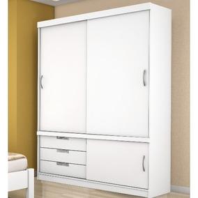 Guarda-roupa Demóbile Estilo Com 2 Portas E 3 Gavetas Branco