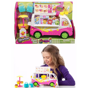 Shopkins Scoops Camion Nieve Helados Ice Cream Truck Remate