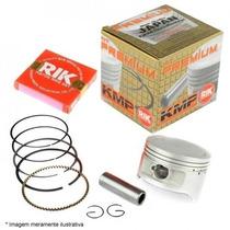 Kit Premium Pistão E Anéis Rik Cbx/nx/xr 200 0.25