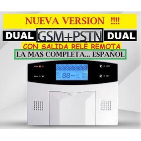 Nueva! Alarma Casa Gsm Dual Mining Cerco Relé On Off Español