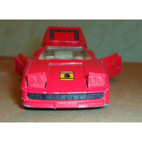Ferrari Testarossa 1984 - Escala - Levanta Faros, Baul, Puer