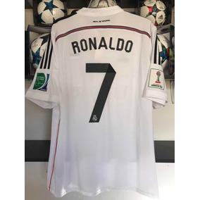 Cristiano Ronaldo Real Madrid Jersey Mundial De Clubes 2014 cd19c068312ad