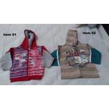 Blusas De Moleton / Casaco De Lã Menino Masculino Infantil