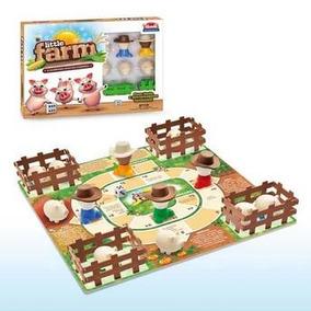 Jogo De Tabuleiro Little Farm Fazendinha 241 - Usual