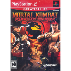 Mortal Kombat Shaolin Monks (greatest Hits) Ps2 Midia Fisica