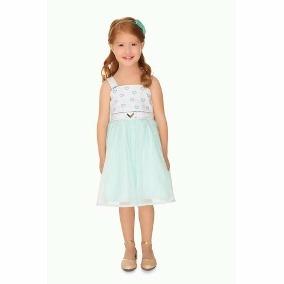 Vestido Infantil Turma Da Malha Tamanho 06 - Natgio