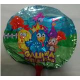 Balão Galinha Pintadinha (20cm Centro De Mesa) - Pcte Com 10