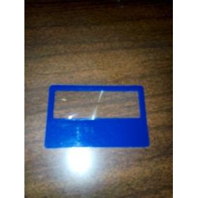 Lupa Plastica Flexible Fresnel 85mm X 56mm Docena