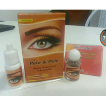 Henna P/ Sobrancelhas Pelo & Pele Kit Com 3 Caixas