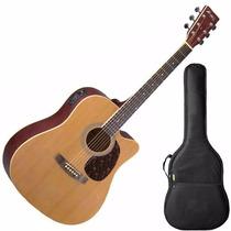Violao Aço Folk Tagima Memphis Md18 Cor Natural C/ Afinador