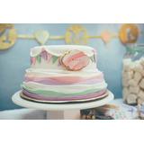Torta Cumpleaños Infantiles Decoradas Casera Primer Año Nena