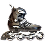Rollers Spady Pw115 Abec 7 Extensibles T 39 42 Negro