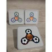 2 Piezas Fidget Spinner Tornasol Balón Futbol Envío Gratis