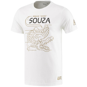 Playera Atletica Ufc Ronaldo Souza Fighter Reebok Az5666