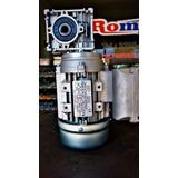 Moto Redutor Romak Q30 1 X 25 C/ Motor Monofásico 1/4 Cv