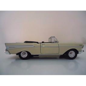 Miniatura Em Metal Carro Antigo Chevrolet Bel Air Ano 1957