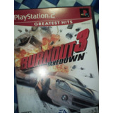 Bornout 3 Takendown Ps2 Incluye Memory 8 Mb