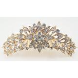 Tiara Coroa Pente Princesa Noivas Festa Strass Debutantes 12