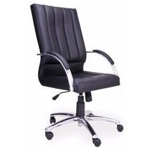 Cadeira Escritório Presidente Giratória Relax Com Trava