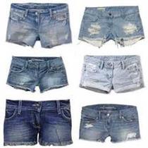 Lote De 10 Shorts Jeans Usados Para Brechó P M G Gg