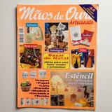 Revista Mãos De Ouro Artesanato Toalhas Velas Sabonetes Nº19