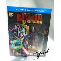 Batman The Killing Joke Blu-ray + Figura De Joker Env Gratis