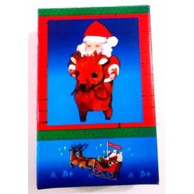 Boneco Papai Noel Rena Natal Brinquedo Santa Claus Cristmas