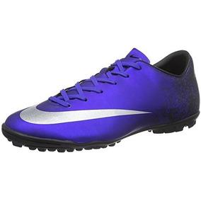 Zapatillas Nike Mercurial Victory V Tf - Tenis Azul en Mercado Libre ... 91774ec8ab460