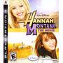 Jogo Ps3 Hannah Montana The Movie Original