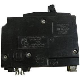 Square D Tipo Qo 2-polo Del Interruptor De Circuito En Caja