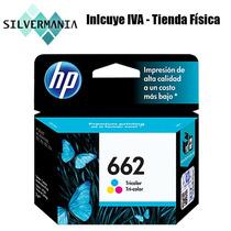 Cartucho Hp 662 Color Original Nuevo