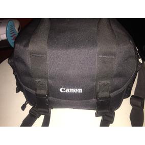 Estuche Maletin Eos T3 Nylon Para Camara Profesional Canon
