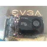Evga Geforce Gt 740 4gb Tarjeta Video/grafica + Regaco