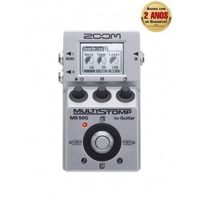 Pedal Zoom Ms-50g Multi-efeito Guitarra Ms50 G Frete Grátis
