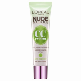 Nude Magique Cc Cream Anti Rojeces L´oreal Paris Pigmento