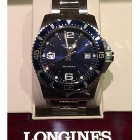 Reloj Longines Mod Hydroconquest Azul 39mm Nuevo