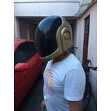 Casco Daft Punk Guy Manuel Con Iluminación Led