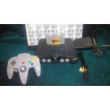 Nintendo 64 Con Zelda Ocarina Of Time ( Envio Gratis )