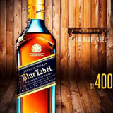 Vendo Whisky Etiqueta Azul 750ml S 400 Soles
