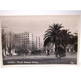 Postal Plaza Anibal Pinto Temuco 1961