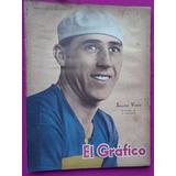 El Grafico N° 1315 Año 1944 Poster: Boca - Newells 4 Boca 4