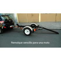 Remolque Para Una Moto Garcia 2015