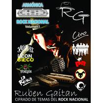 Llibro Armónica Rock Nacional Vol 1 + Cd