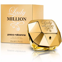 Lady Million Eau De Parfum ( Edp ) 80ml   Original E Lacrado