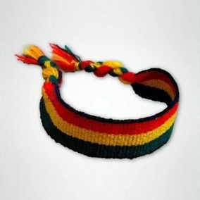 Pulseira Tornozeleira Reggae Bob Marley