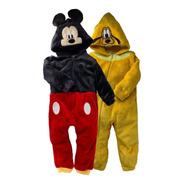 Kit 2 Mamelucos Disney Mickey Y Pluto