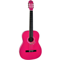 Violão Clássico Acústico Nylon Ac39 Tagima Memphis Pink