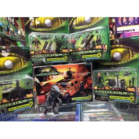 Lote De Godzilla Trendmasters Figuras Y Vehiculo