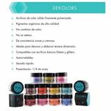 Acrilico De Color Deken Por Pieza 1/4 Oz