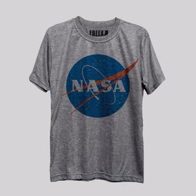 Camiseta Nasa Logo Nerd Geek Freekz